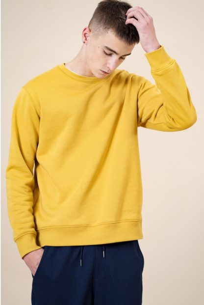 Men's Thick Sweatshirts in solid colors